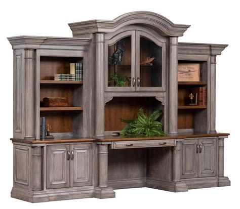 Credenza Desk With Hutch Credenza Desk With Optional Three Hutch Top From
