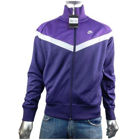 K Suit M L Xl Xxxl Dijamin Original mens nike vintage retro white purple track suit top jacket