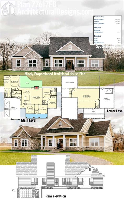 house plans with garage on side 25 best house plans ideas on pinterest 4 bedroom house
