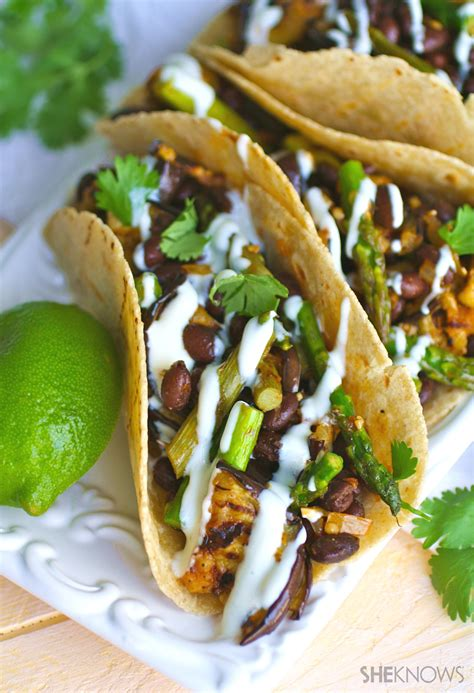 how to make vegetarian tacos recipe bring tons of flavor to vegan tacos with eggplant