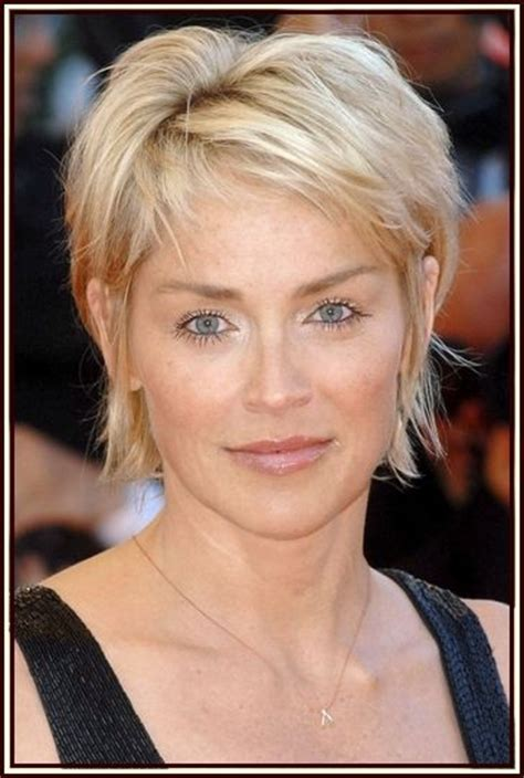 17 meilleures idées à propos de Sharon Stone Hairstyles