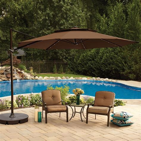 Large Umbrellas For Patios Large Patio Umbrellas In Square Shape Carehomedecor