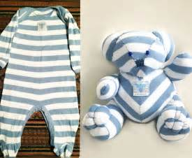 pattern to make teddy from infant sleeper