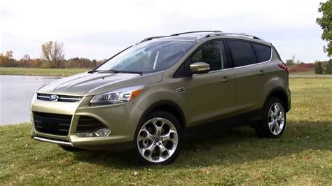 ford escape review youtube