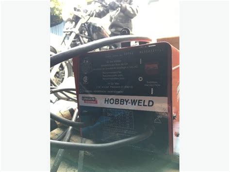 lincoln hobby welder lincoln hobby weld arc welder 115volt city