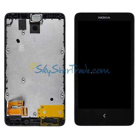 Hp Nokia X A110 nokia x a110 rm 980 normandy lcd display with digitizer touch panel and bezel frame