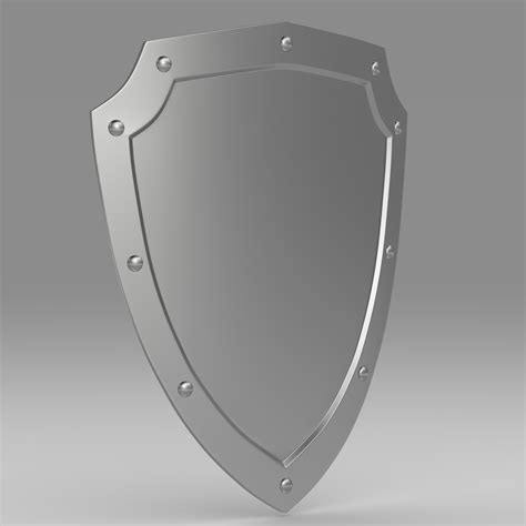 Shield 3d Model shield 3d model flatpyramid
