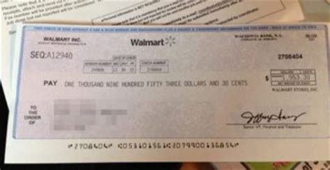 Walmart Background Check 2015 Walmart Check Scam Prompts Warning From Sheriffs