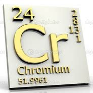 Chromium 58 Number Of Protons Transition Metals Periodic Table