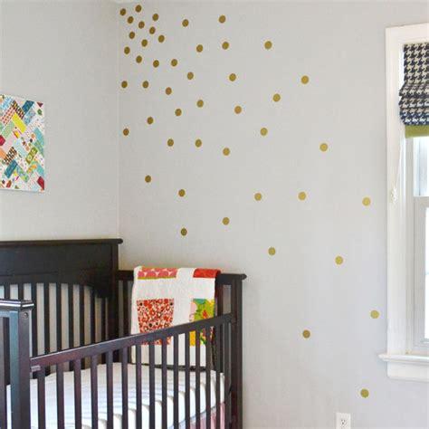 gold dot wall decals gold polka dot vinyl wall decals trendy modern fun dot wall