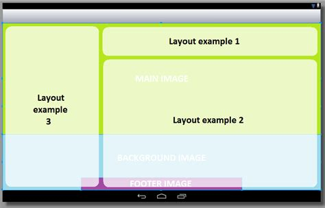 xml layout design for android device having different android xml layout as a background stack overflow