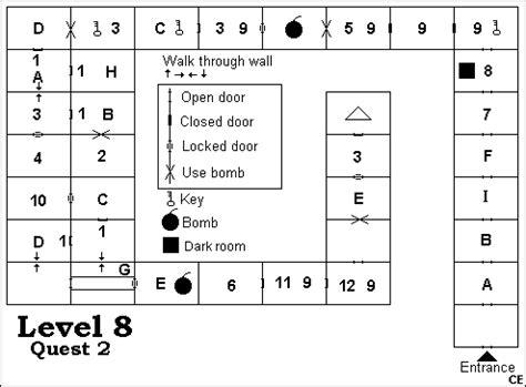 legend of zelda map level 8 the legend of zelda maps zelda elements