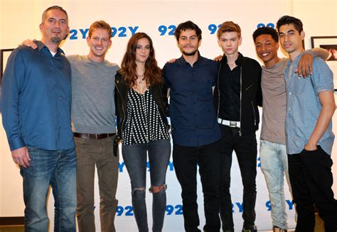 cast of the the cast of the maze runner discuss being a family what it was like to and more