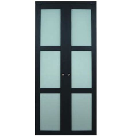 Frosted Glass Interior Doors Home Depot by Truporte Doors 3100 Series 30 In X 80 In 3 Lite