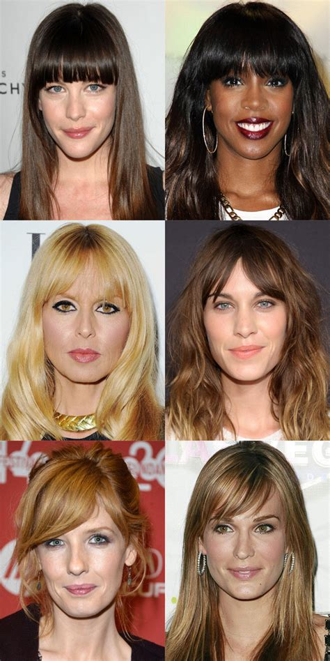 what kind of bangs look good on over 50 women the best and worst bangs for long face shapes beautyeditor