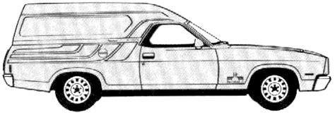 1978 ford falcon sundowner van blueprints free outlines
