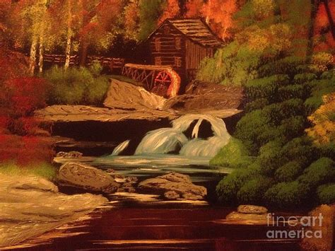 bob ross painting kits for sale west virginia grist mill by tim blankenship