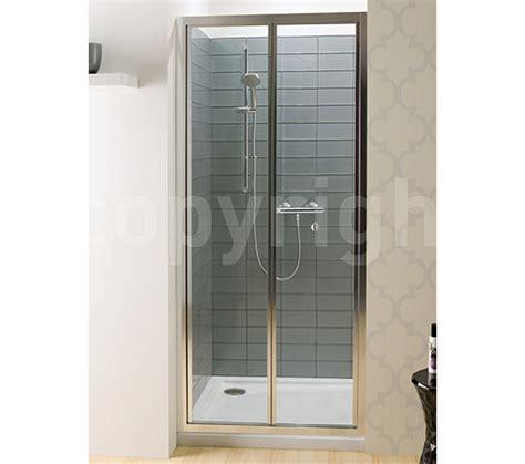 Bi Fold Shower Doors 800mm Simpsons Edge Bi Fold Shower Door 800mm