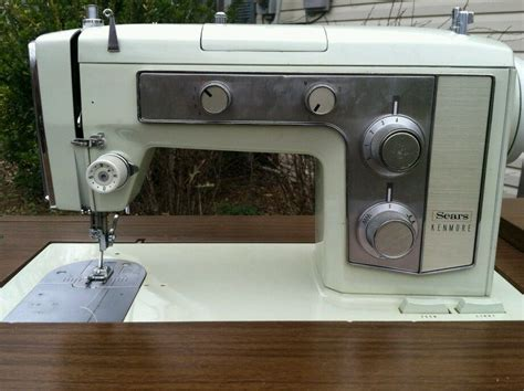 sears kenmore electric sewing machine in cabinet ebay