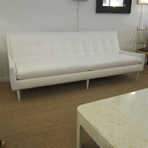 Flared Arm Sofa by 1950s Flared Arm Sofa At 1stdibs