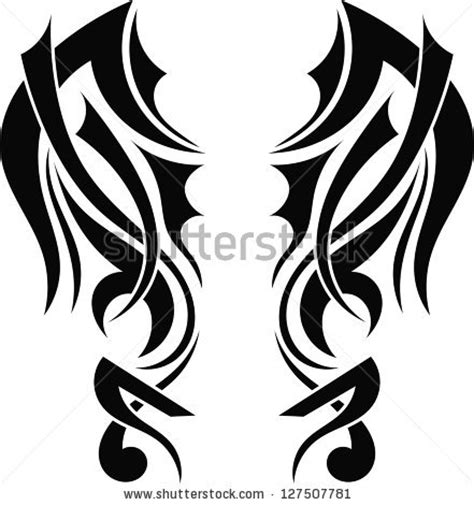 tribal graphic pattern tribal tattoo stock images royalty free images vectors