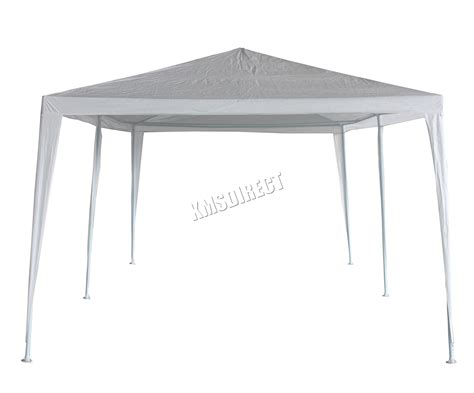white gazebo 3m x 6m white waterproof outdoor garden gazebo tent