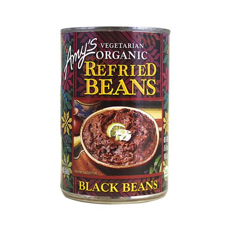 S Kitchen Refried Black Beans S Kitchen Vegetarian Organic Refried Black Beans 15 4 Oz Can Swanson Health Products
