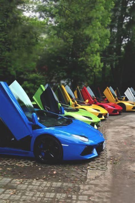 Rainbow Lamborghini Aventador by Lamborghini Aventador Rainbow Lamborghini