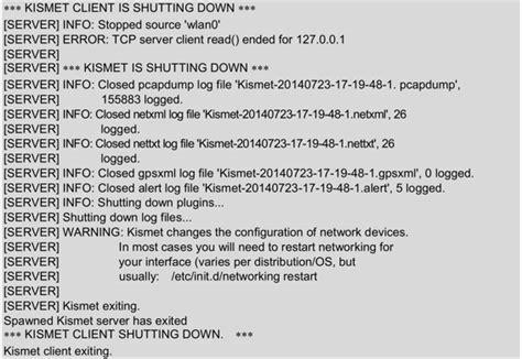kali linux kismet tutorial 9 1 无线网络嗅探工具kismet 大学霸 kali linux 安全渗透教程