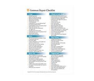 repair checklist amp the 4 horsemen of the apocalypse