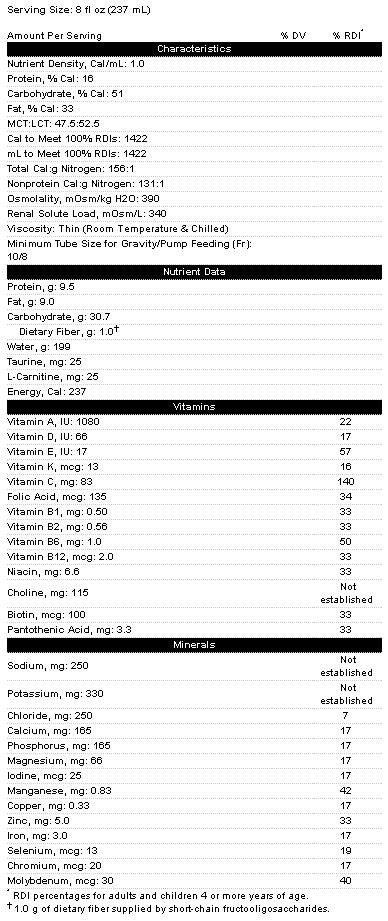 Vital 1.5 Cal Therapeutic Nutrition | Abbott 62713, 64825