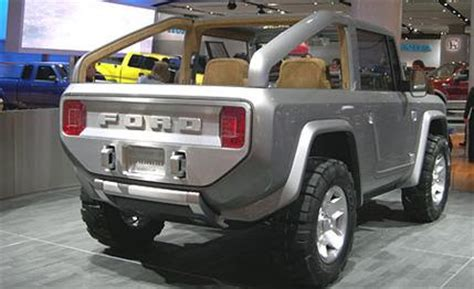 ford bronco auto shows car and driver
