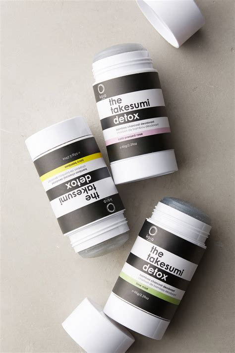 Takesumi Detox Deodorant Reviews by Kaia Naturals The Takesumi Detox Bamboo Charcoal Deodorant