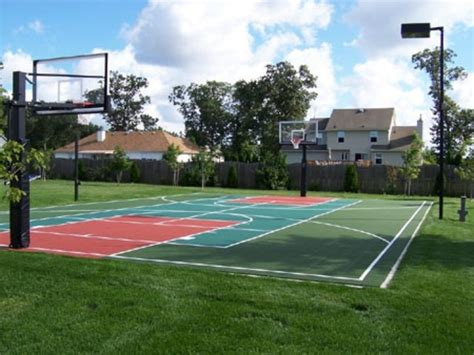 outdoor basketball court outdoor basketball court