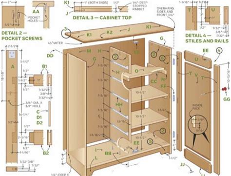 kitchen cabinet plans pdf 25 best ideas about cabinet plans on shop