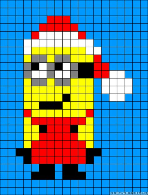 minion bead pattern perler bead patterns u create