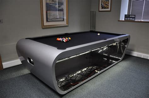 Blacklight Pool Table by Toulet Loft Pool Table 6ft 7ft 8ft 9ft 10ft Free Delivery Installation
