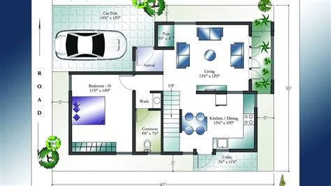 kerala home design west facing duplex house plans 30x40 numberedtype