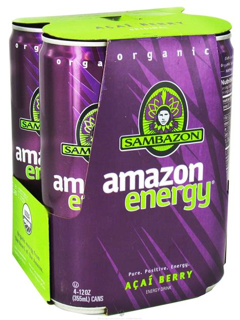 z pack and energy drinks buy sambazon organic energy drink acai berry 4