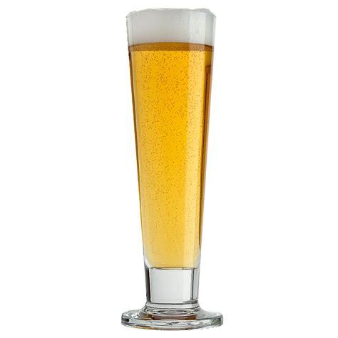 pilsner glass briscoes viva footed pilsner 420ml