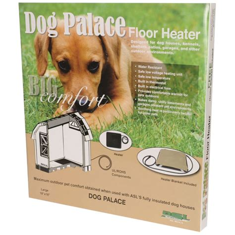 dog palace dog house with floor heater dog house kennel floor heater at mills fleet farm