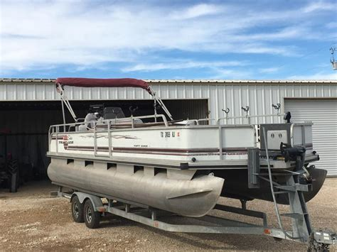 party boat fishing rigs 24 tracker party barge fishing rig boats 4 sale texas