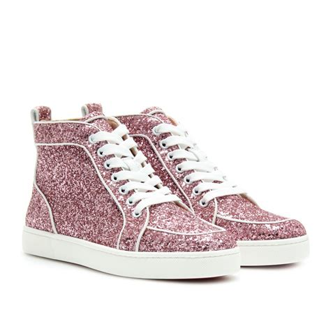 christian louboutin sneakers for christian louboutin rantus orlato glitter sneakers kicks