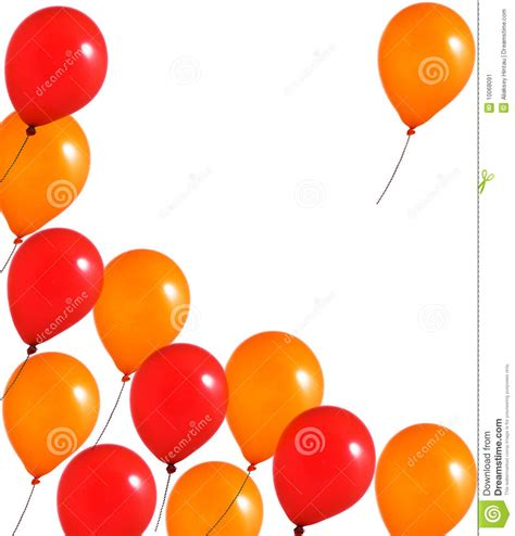 up a balloon with orange and orange balloons stock illustration image of