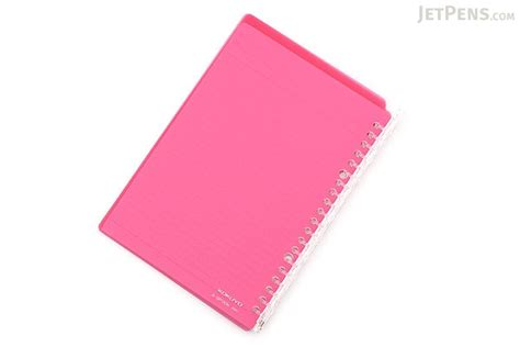 Binder Lotso Pink 20ring kokuyo cus smart ring binder notebook a5 20 rings pink jetpens