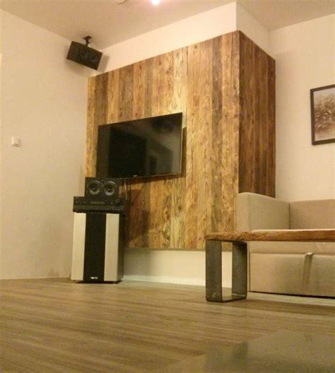 rustikale innentüren wand und boden gestalten wohnzimmer