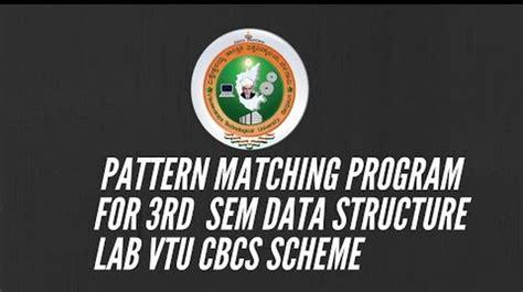 pattern matching scheme anish ansari google