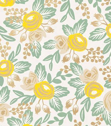 rifle paper company wallpaper rosa yellow rifle paper co wallpaper a pattern