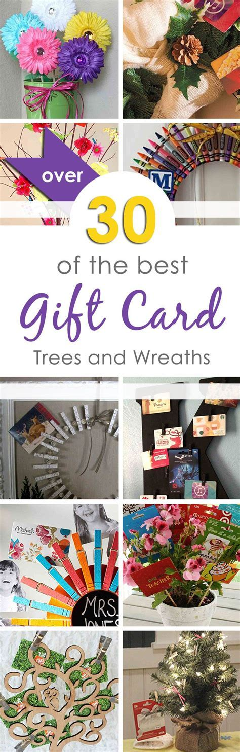 The Best Gift Card Tree and Gift Card Wreaths Ever