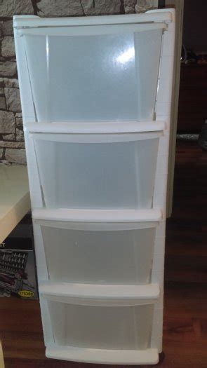 4 drawer plastic storage unit white 4 drawer plastic tower storage unit white for sale in